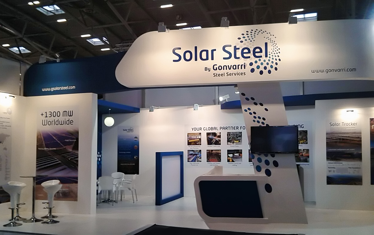 Intersolar 2015 – SolarSteel